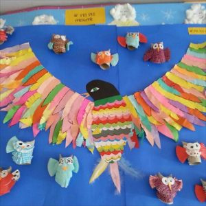 birds bulletin board idea