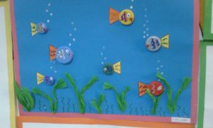 bottle cap fish craft