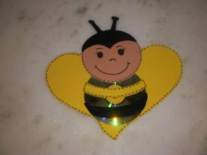 cd-bee-craft-idea