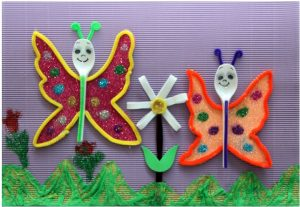 spoon-butterfly-craft-for-kid