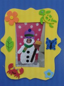 christmas-frame-craft-idea