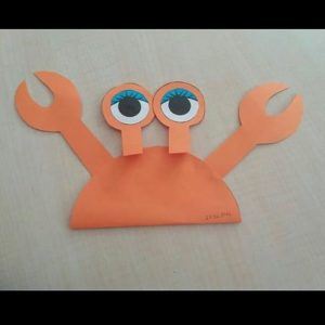 crab craft idea