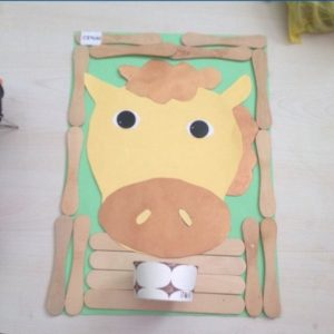 farm animal craft idea for toddlers