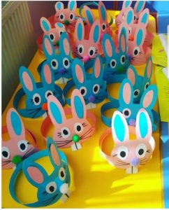 bunny headband craft