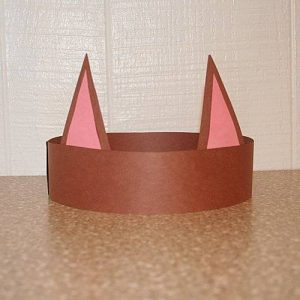 cat headband craft