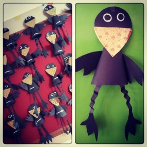 cone-shaped-crow-craft-idea