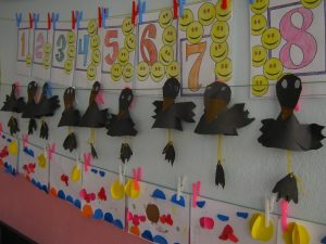 cone shaped crow craft idea