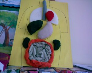 human body craft idea for kids