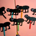 ant puppet craft idea