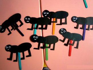 ant puppet craft idea