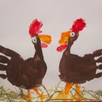 Handprint-craft-chicken-idea