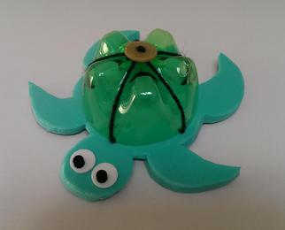bottle turtle craft