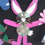 cd bunny craft idea