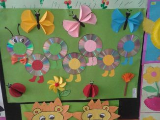 cd caterpillar bulletin board