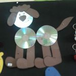 cd dog craft idea