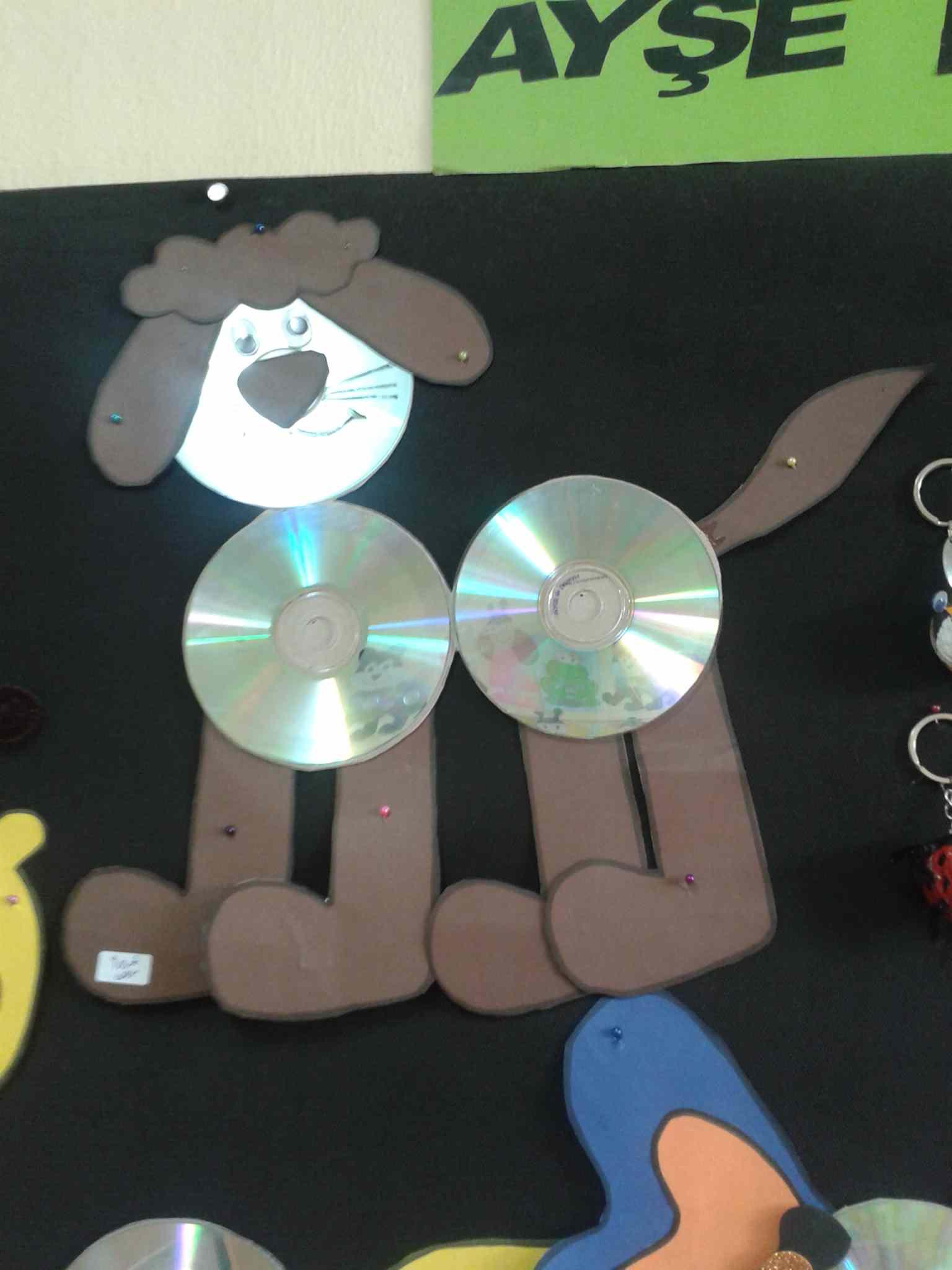 cd dog craft idea for kids