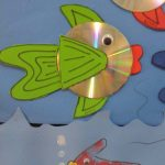 cd fish craft idea