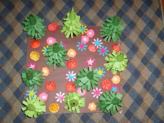 cone_shaped_tree_craft_idea