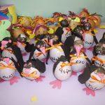 egg penguin craft idea