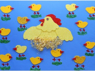 hen bulletin board idea
