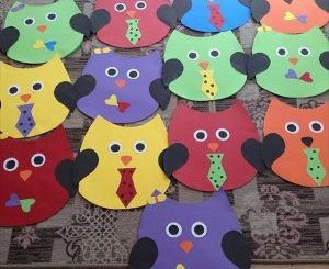 owl craft idea for kids