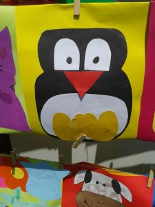paper craft penguin craft