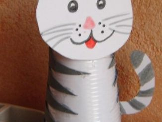paper-cup-cat-craft-idea