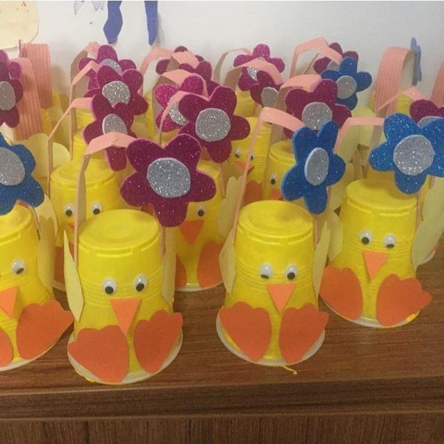 Paper cup crafts for kids Preschoolpla