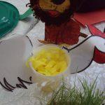 paper cup chicken craft idea