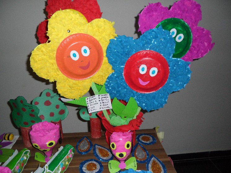 Paper Plate Flower Craft Isla Nuevodiario Co