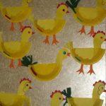 paper plate hen craft & Hen(chicken) crafts