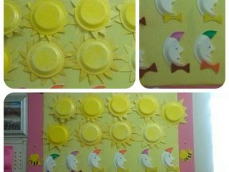 paper plate sun craft ideas