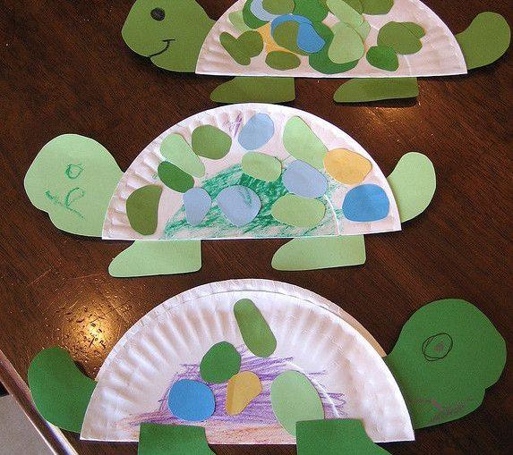 paper plate turtle craft idea (2)