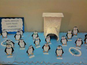 penguin bulletin board idea craft