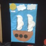 pirate ship craft idea for kids