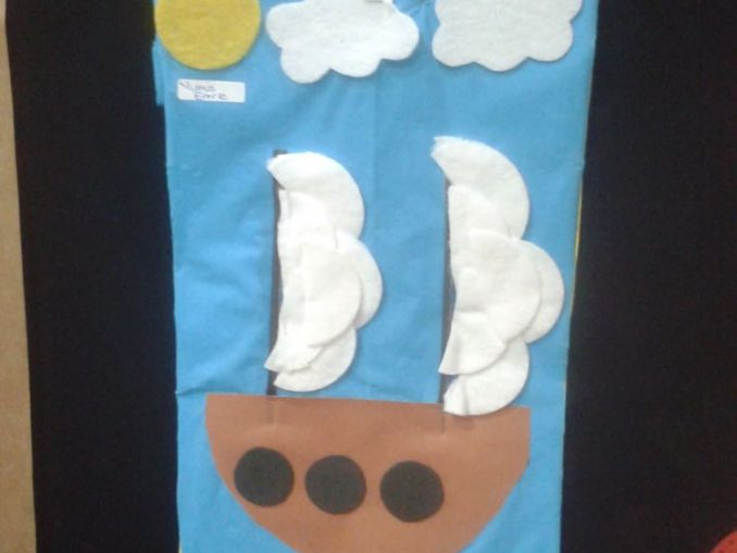 pirate ship craft idea for kids