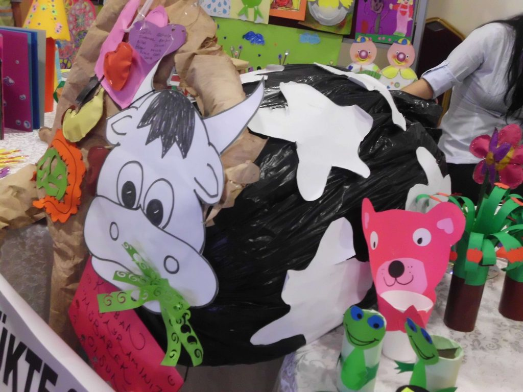 Plastic Bag Animal Craft For Kids