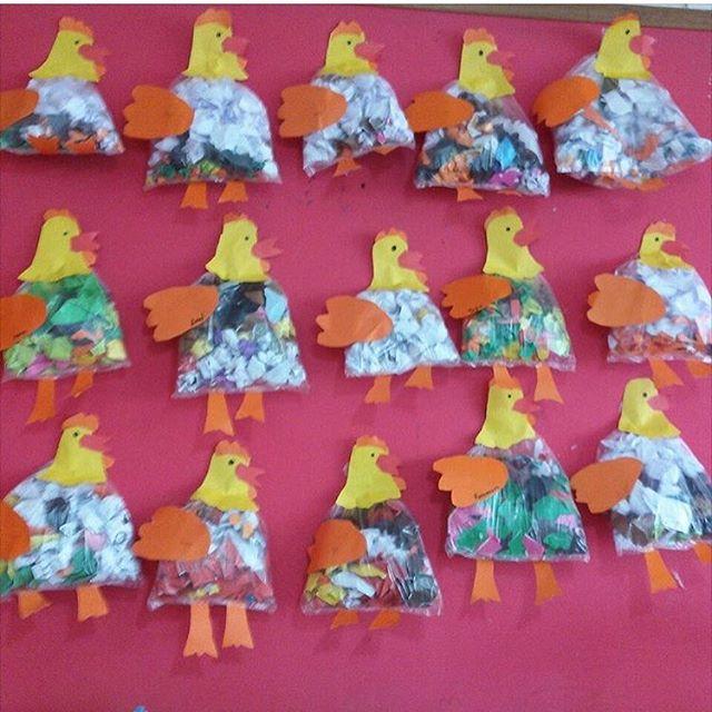 plastic-bag-hen-craft-idea