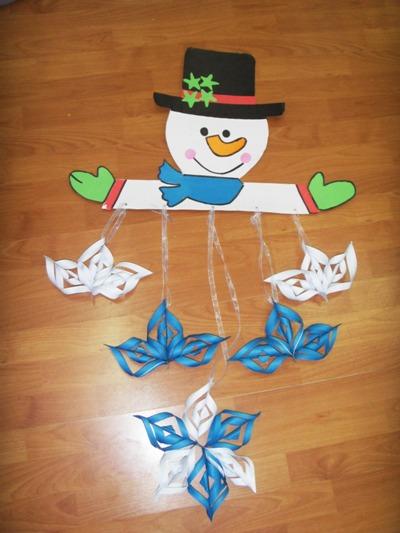snowman-mobile-craft-idea