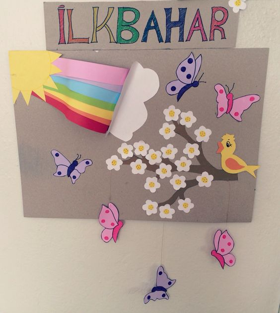 spring bulletin board idea for preschoolers (1)
