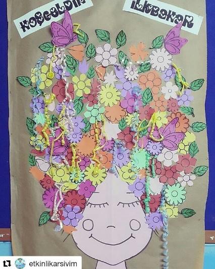 spring bulletin board idea for preschoolers (2)