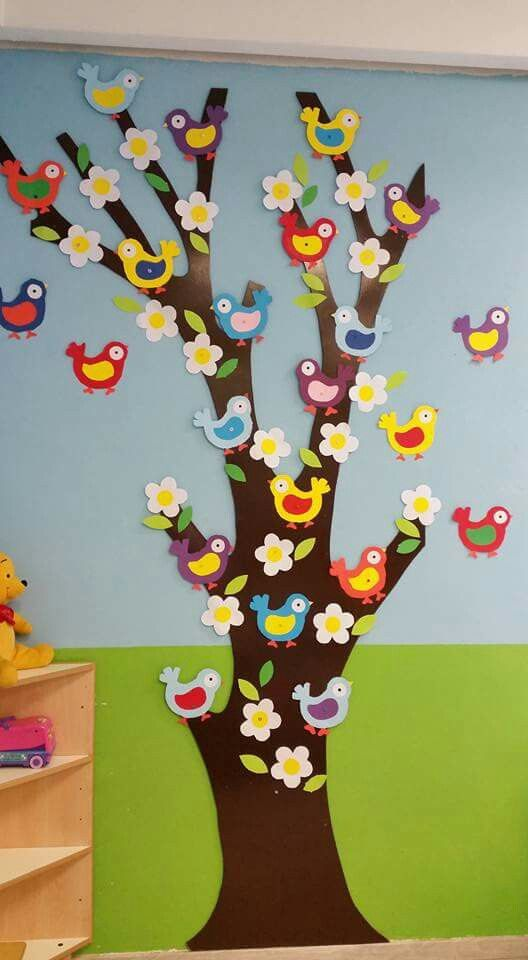 spring tree craft idea for kids (1)