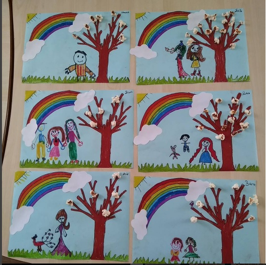 spring tree craft idea for kids (2)