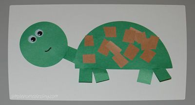 turtle craft idea for kids