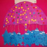 umbrella bulletin board idea