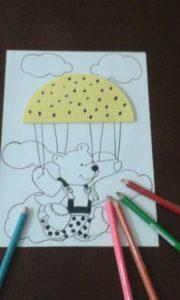 bear craft for kindergarten