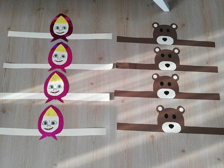 bear headband craft
