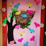 bird bulletin board idea