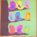 bird bulletin board idea for kids
