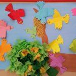 bird bulletin board idea for preschoolers